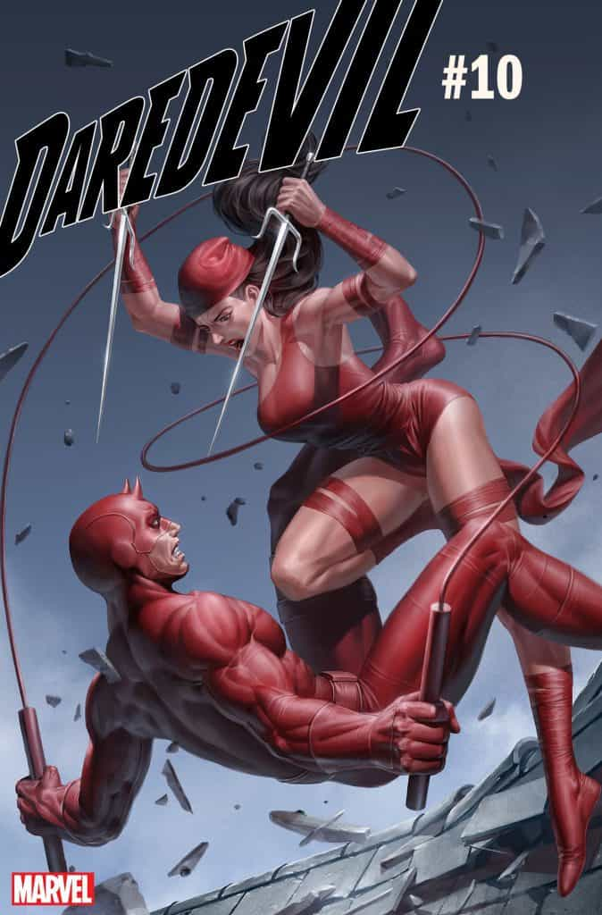 DAREDEVIL #10 - Cover B