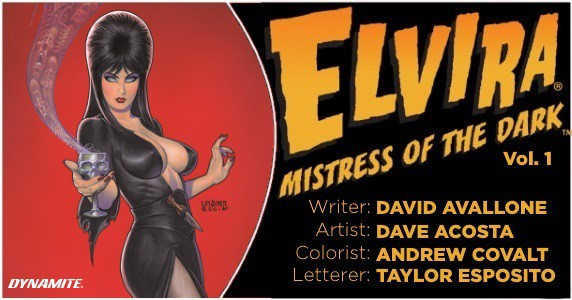 Elvira Mistress of the Dark Vol 1. TPB preview feature