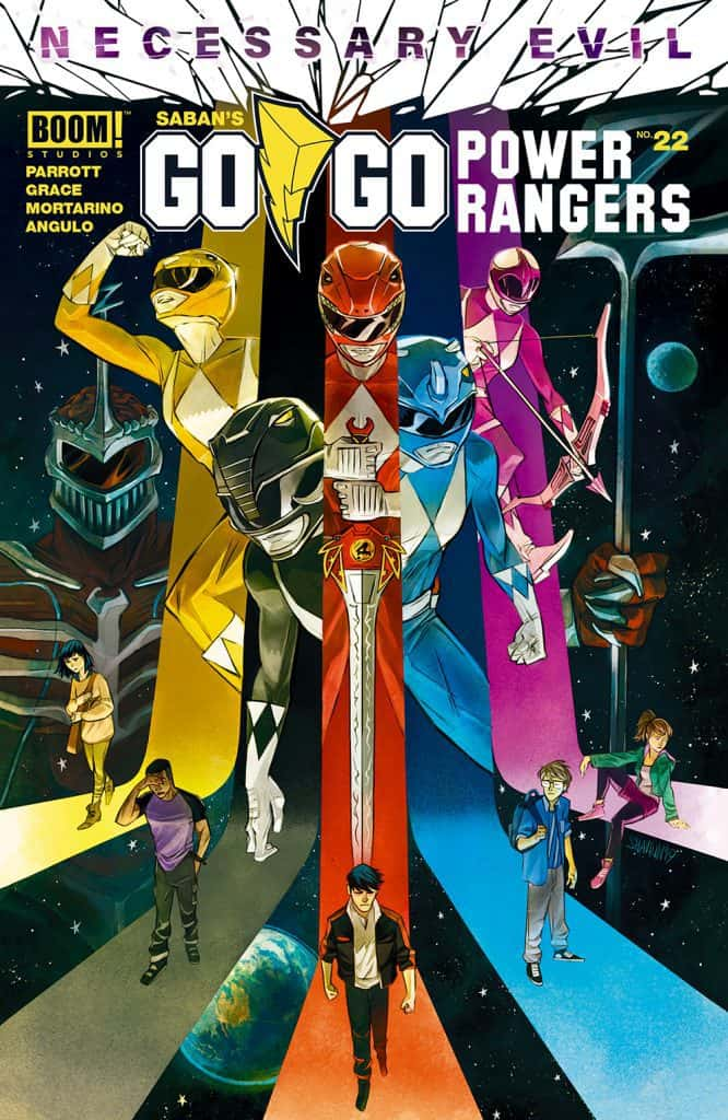 Go Go Power Rangers #22 - Main Cover