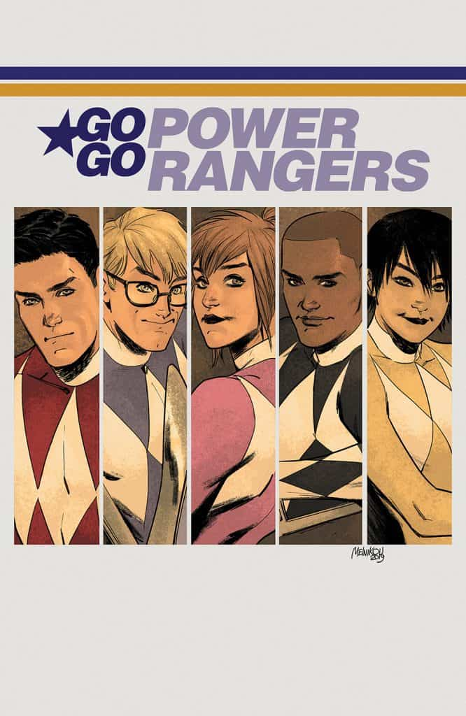Go Go Power Rangers #22 - Album Cover