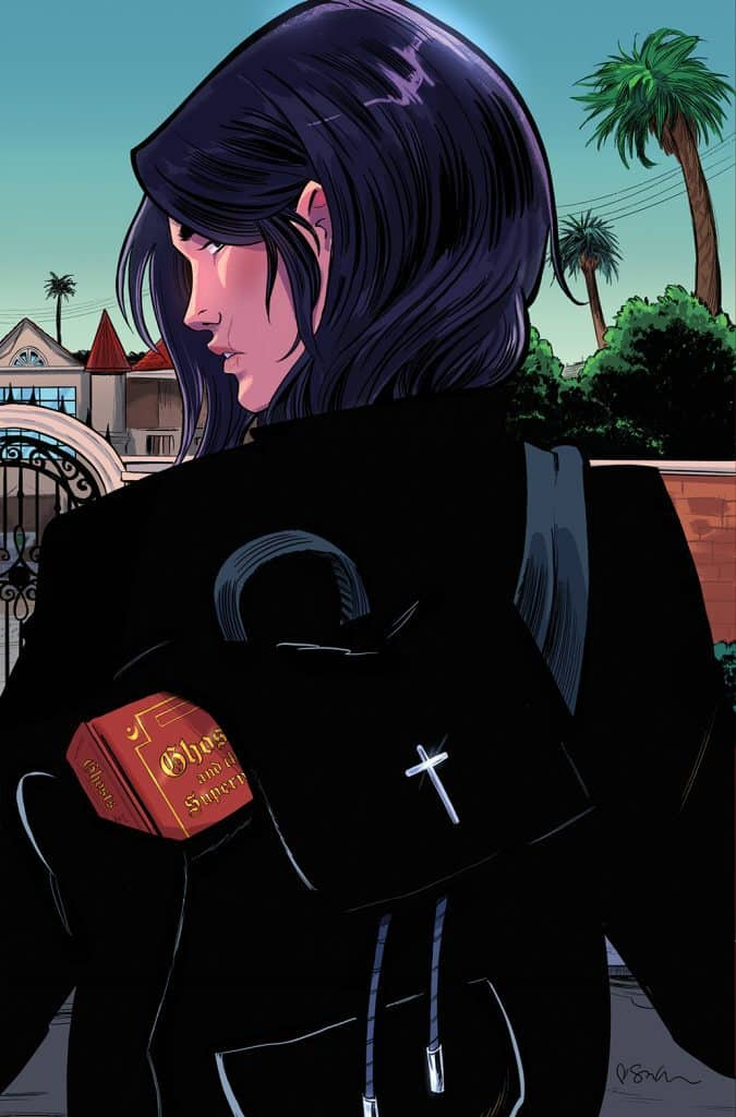 Ghosted in L.A. #5 - Variant Cover