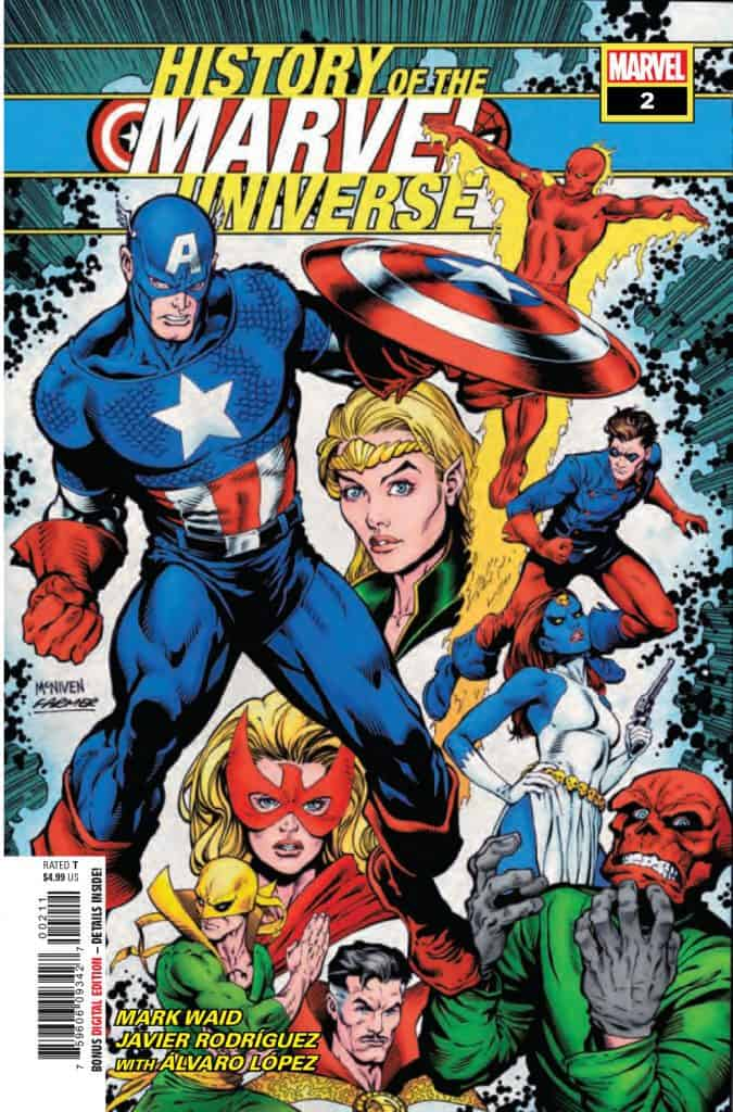 History of the Marvel Universe #2 - Cover A
