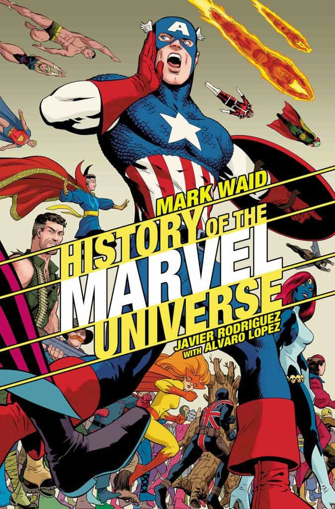 History of the Marvel Universe #2 - Cover B