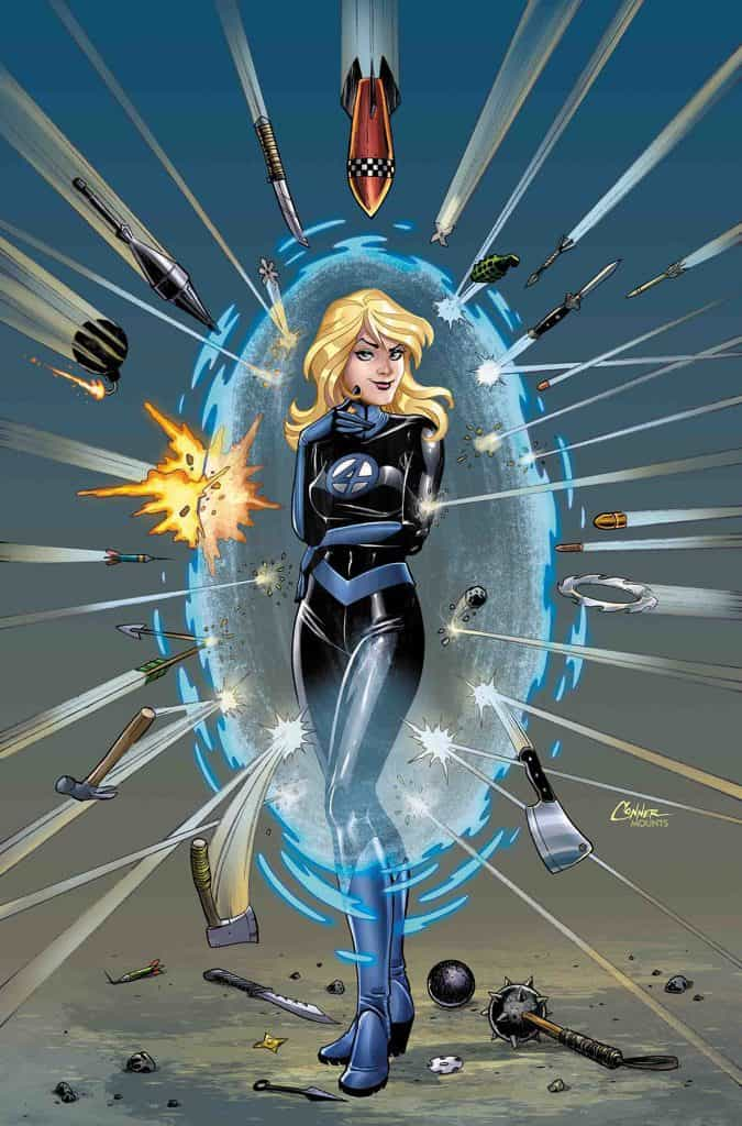 INVISIBLE WOMAN #2 - Cover B