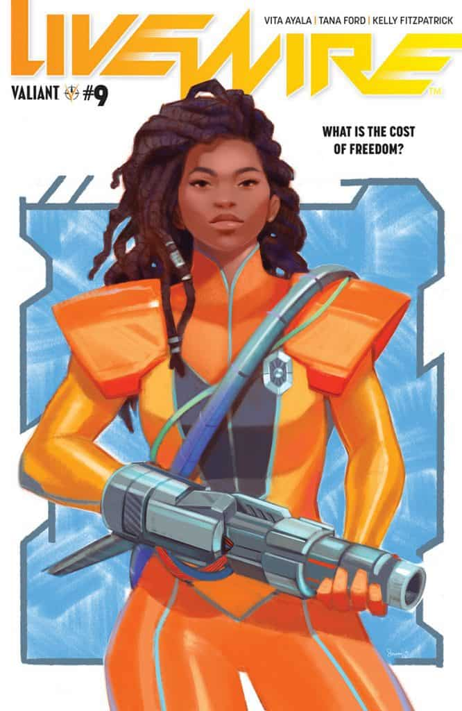 LIVEWIRE #9 - Cover A