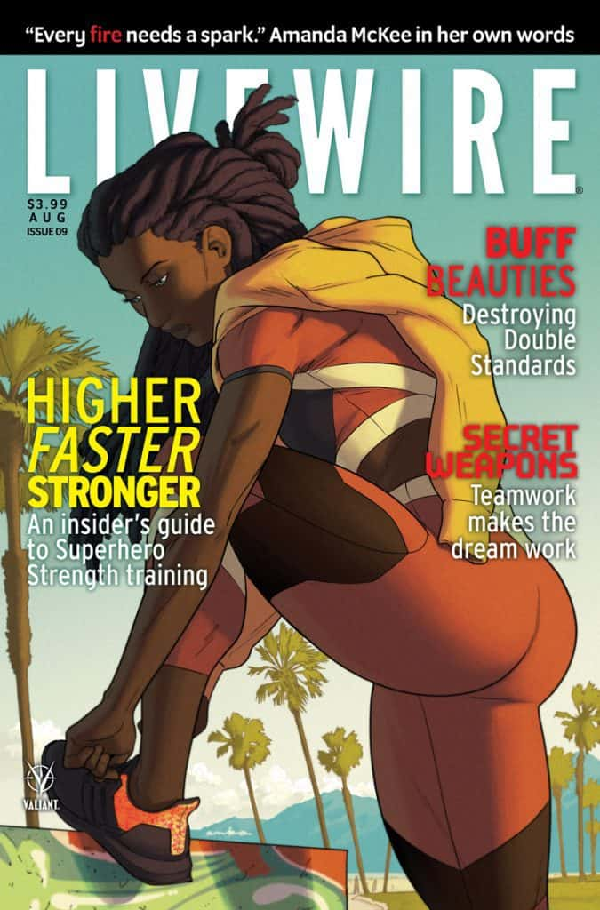 LIVEWIRE #9 - Cover C