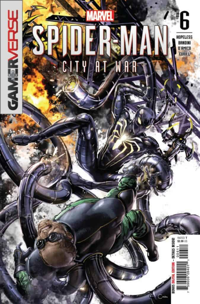 MARVEL'S SPIDERMAN: CITY AT WAR #6 - Cover A