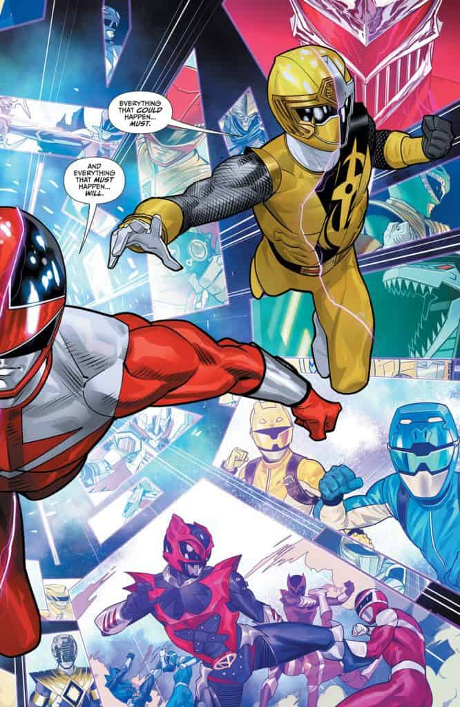 Mighty Morphin Power Rangers #42 - Unlocked Story Variant