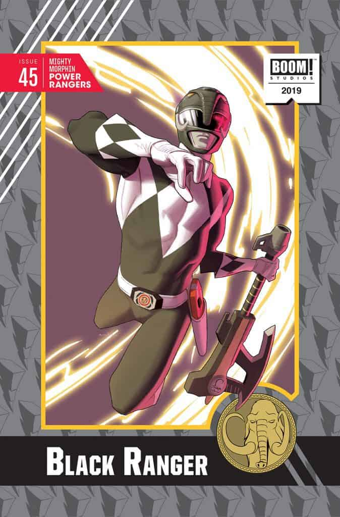 MIGHTY MORPHIN POWER RANGERS #45 - Incentive Cover