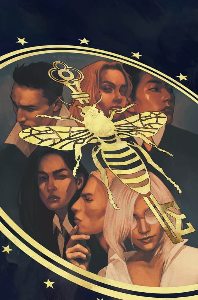 THE MAGICIANS #1 - Main Cover