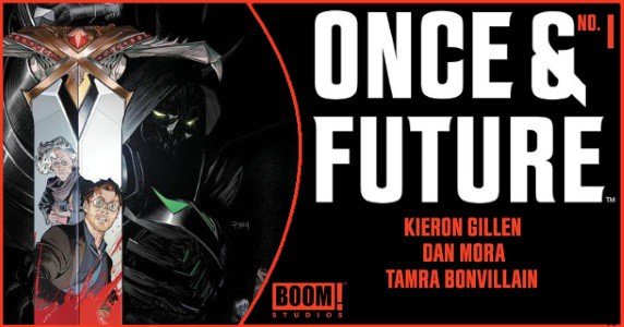 ONCE AND FUTURE #1 preview feature
