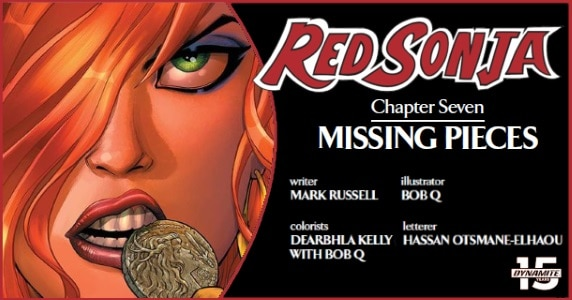 Red Sonja #7 preview feature