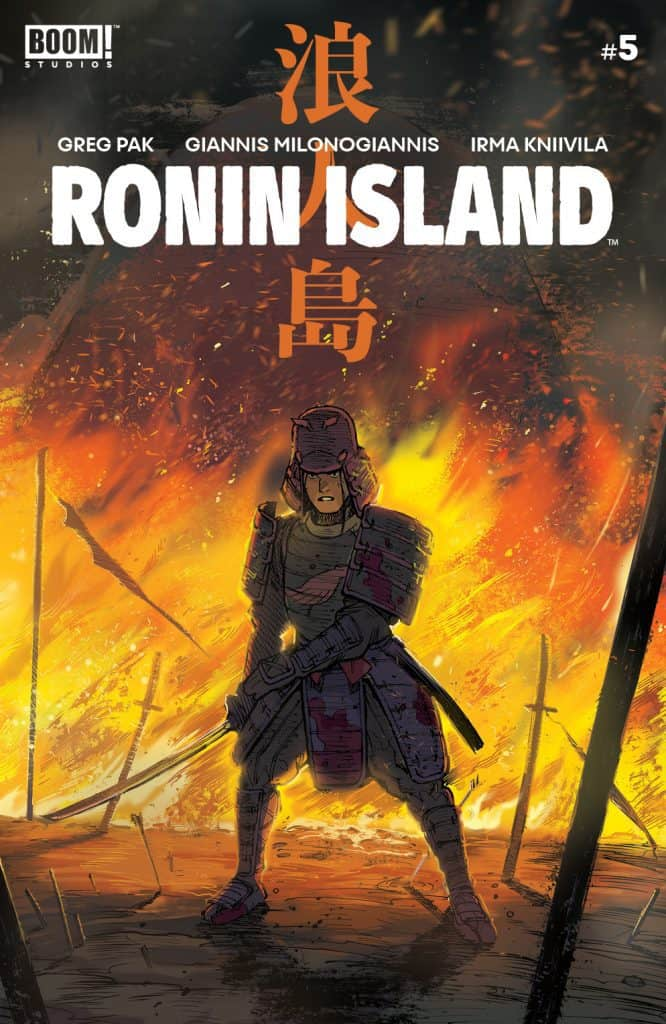 Ronin Island #5 - Main Cover