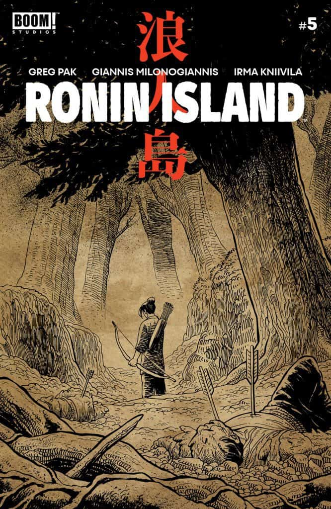 Ronin Island #5 - Preorder Cover