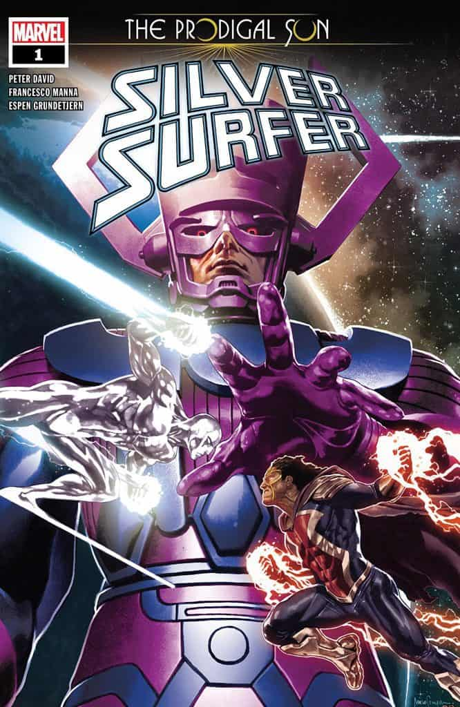 SILVER SURFER: THE PRODIGAL SUN #1 - Cover A
