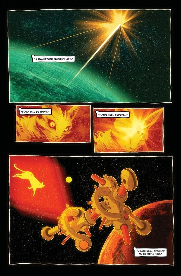 STRAYED #1 - preview page 3