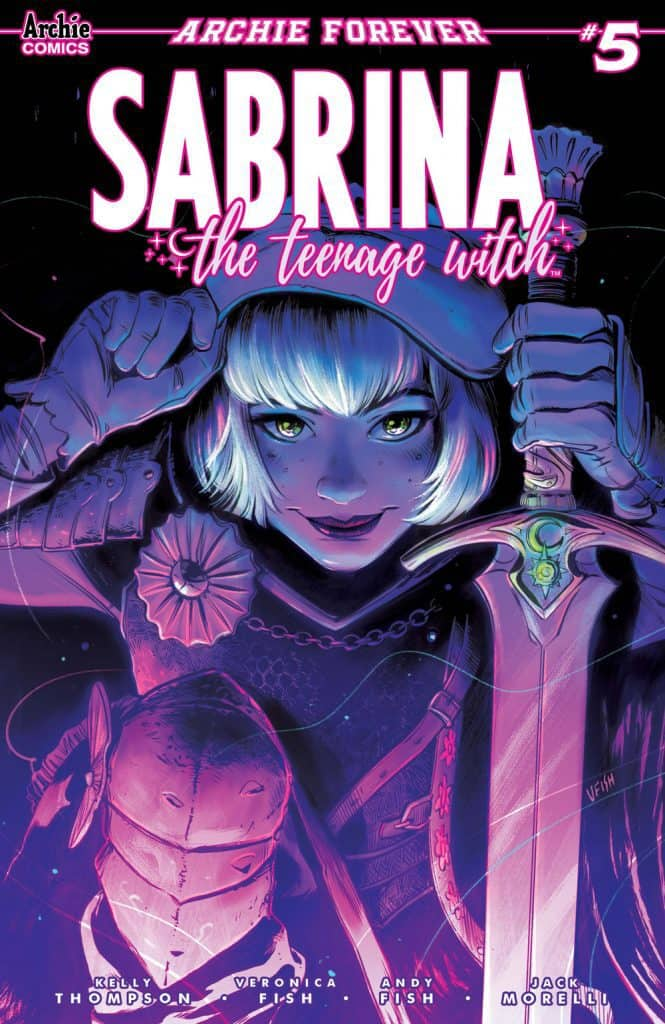 SABRINA THE TEENAGE WITCH #5 - Main Cover by Veronica Fish