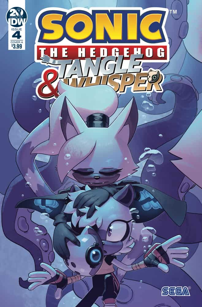 Sonic: Tangle & Whisper #4 - Cover A