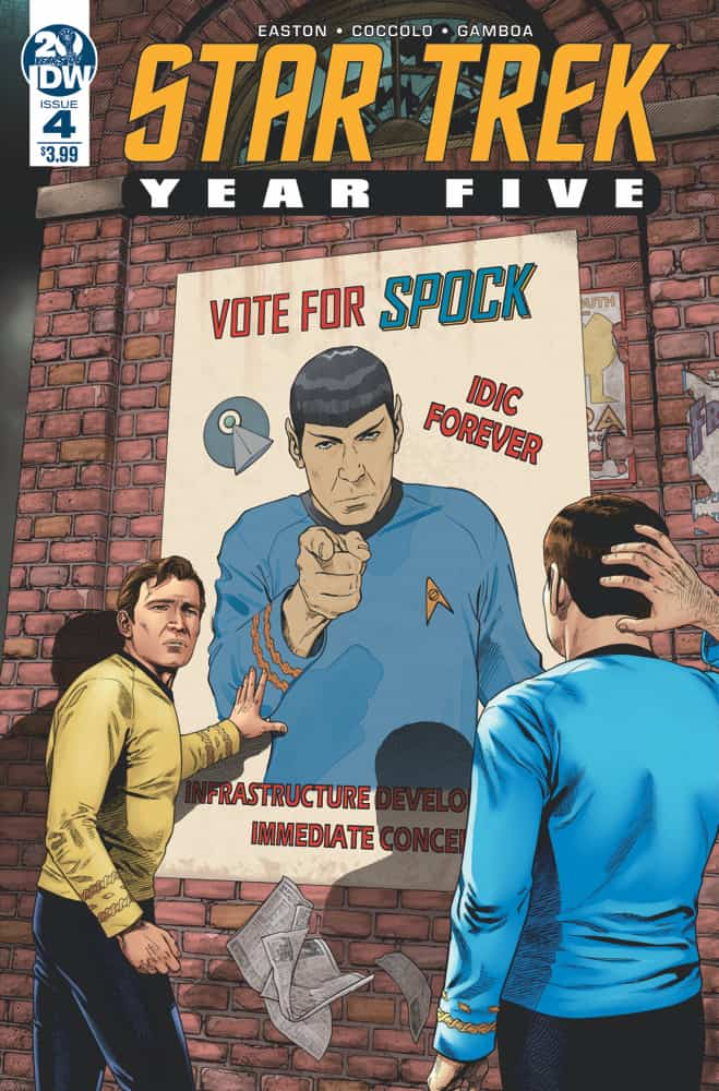 Star Trek: Year Five #4 - Cover A