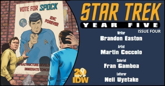 Star Trek Year Five #4 preview feature