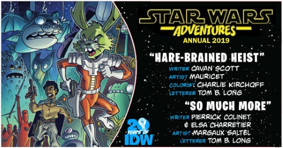 Star Wars Adventures Annual 2019 preview feature