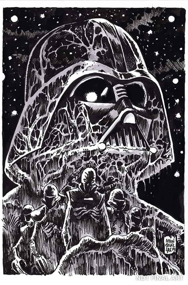 Star Wars Adventures: Return to Vader's Castle #5 - B&W Retailer Incentive Variant
