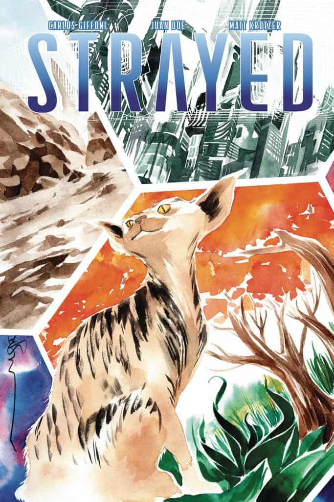Strayed #1 - Cover B