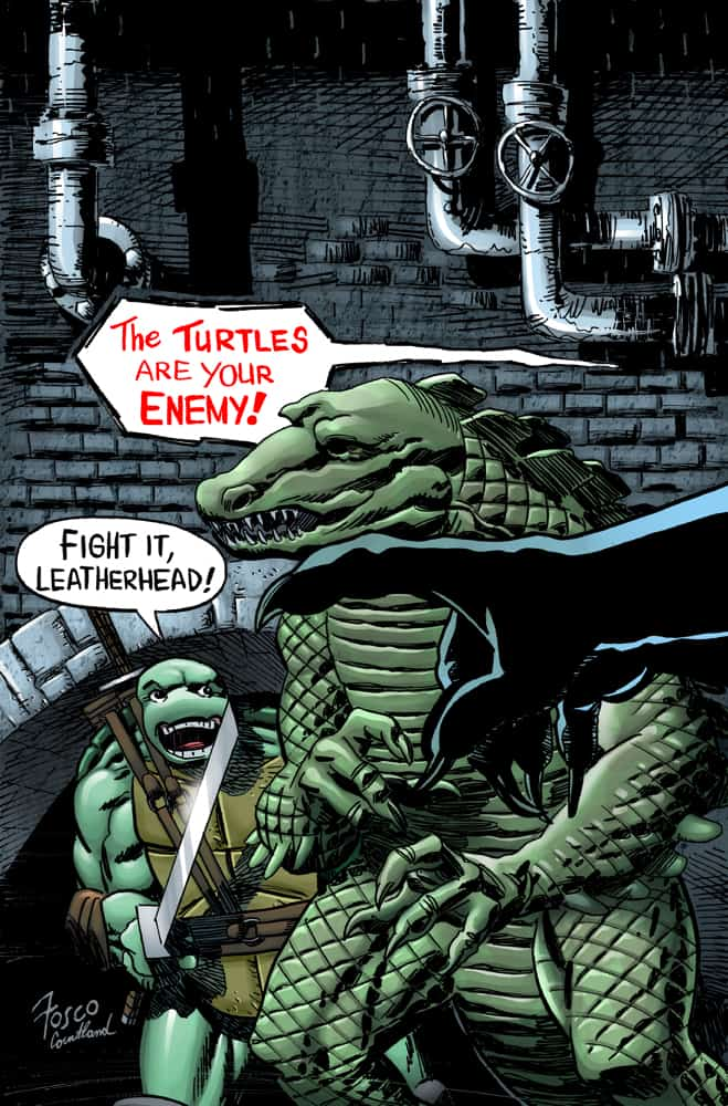 TMNT: Urban Legends #18 - Cover A