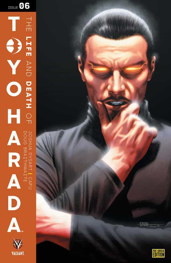 THE LIFE AND DEATH OF TOYO HARADA #6 - Pre-Order Edition Variant