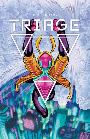 TRIAGE #2 - Main Cover by Phillip Sevy
