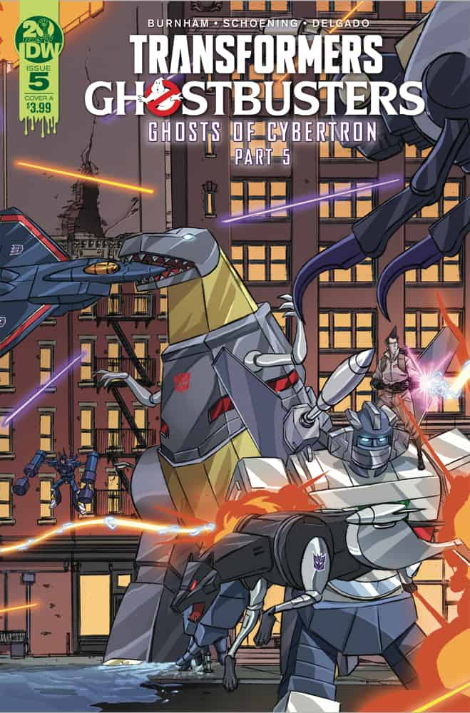 Transformers/Ghostbusters #5 - Cover A