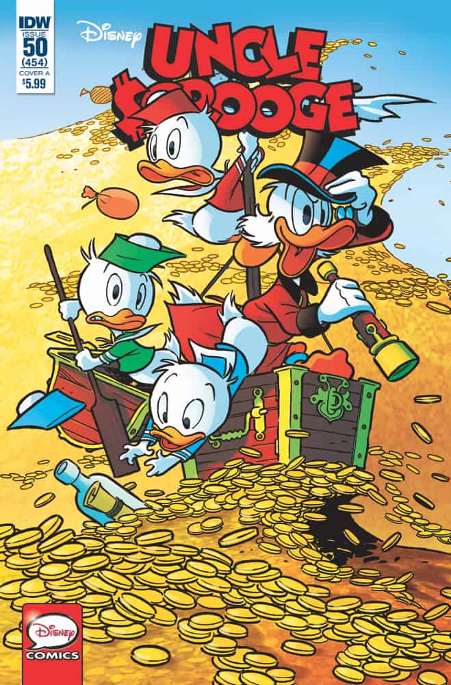 Uncle Scrooge #50 - Cover A