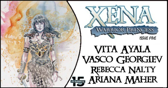 Xena Warrior Princess #5 preview feature