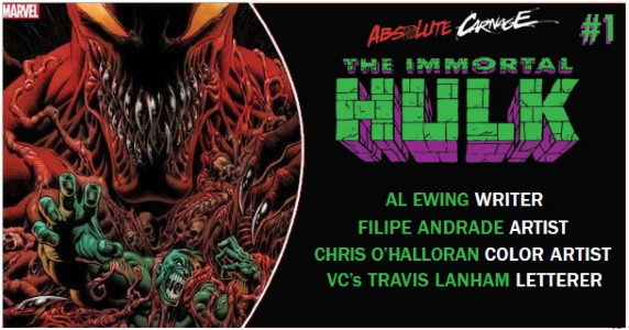 ABSOLUTE CARNAGE THE IMMORTAL HULK #1 preview feature