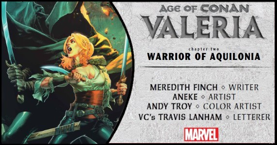 Age of Conan Valeria #2 preview feature