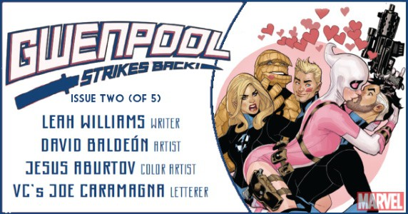 Gwenpool Strikes Back preview feature