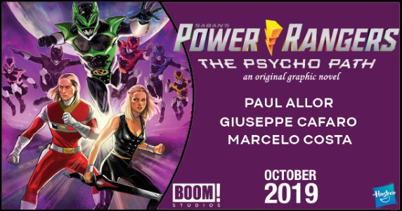Power Rangers Psycho Path feature
