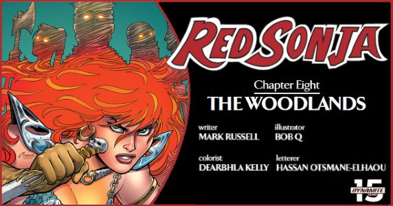 Red Sonja #8 preview feature