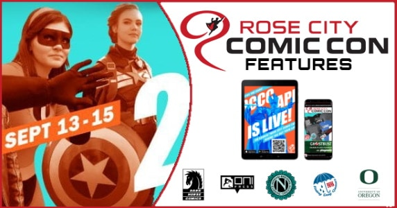 Rose City Comic Con features feature