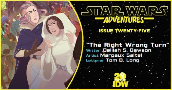 STAR WARS ADVENTURES #25 preview feature