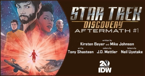 Star Trek Discovery Aftermath #1 preview feature