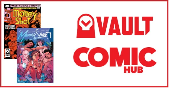 Vault ComicHub announcement feature
