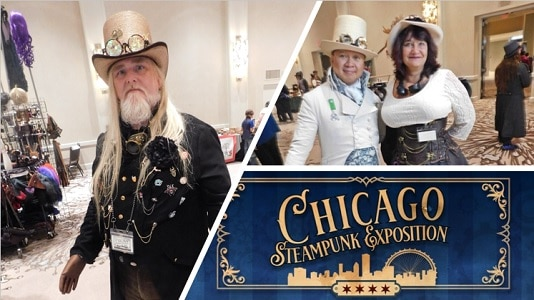 Chicago Steampunk Exposition cosplay feature