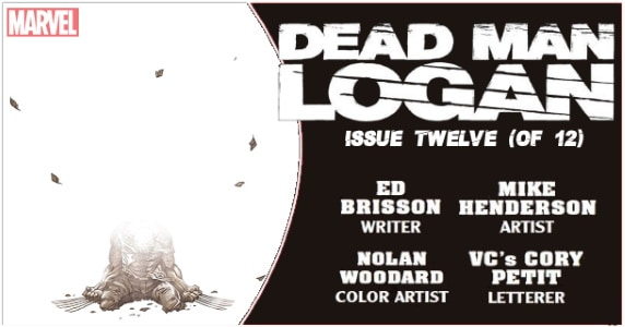 Dead Man Logan #12 preview feature