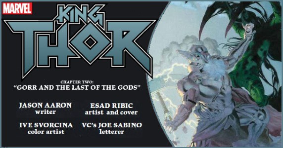 King Thor #2 preview feature