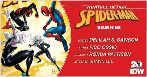 Marvel Action Spider-Man #9 preview feature