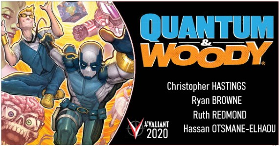Quantum & Woody 2020 announcement feature