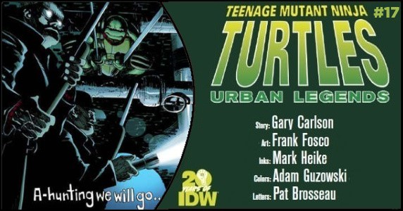 TMNT Urban Legends #17 preview feature