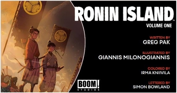 Ronin Island Vol. 1 TPB preview feature