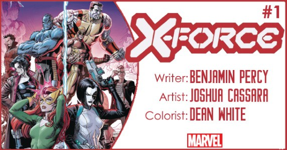 X-Force #1 preview feature